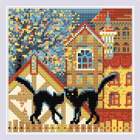 City and Cats Autumn
