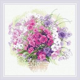 Watercolour Phlox