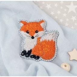 Little Fox Brooch