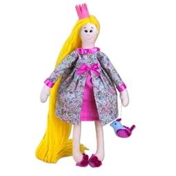 Rapunzel with a Bird